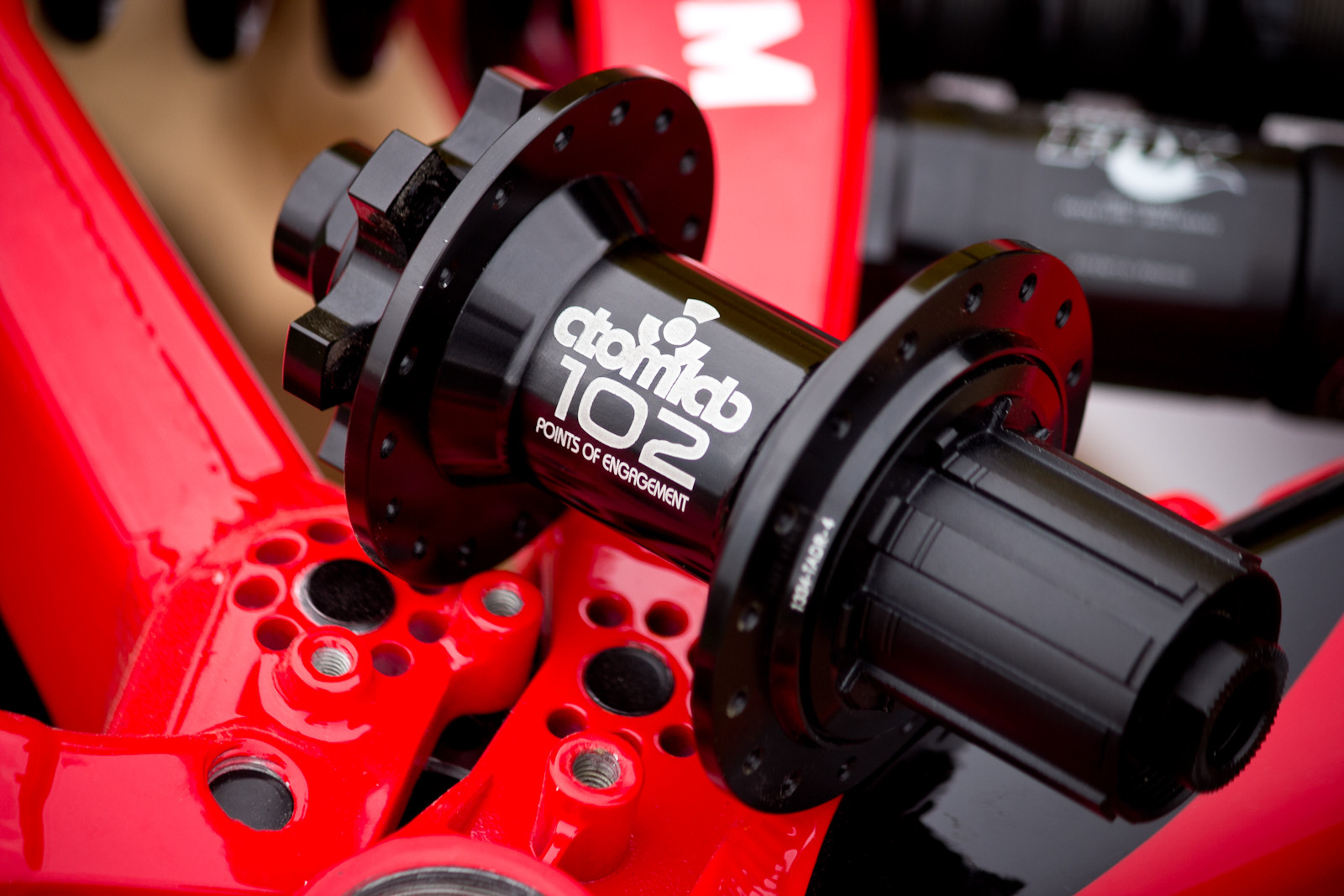 102-Point Atomlab Hubs - Sea Otter Classic - 2014 Sea Otter Classic Pit Bits - 3rd Edition - Mountain Biking Pictures - Vital MTB