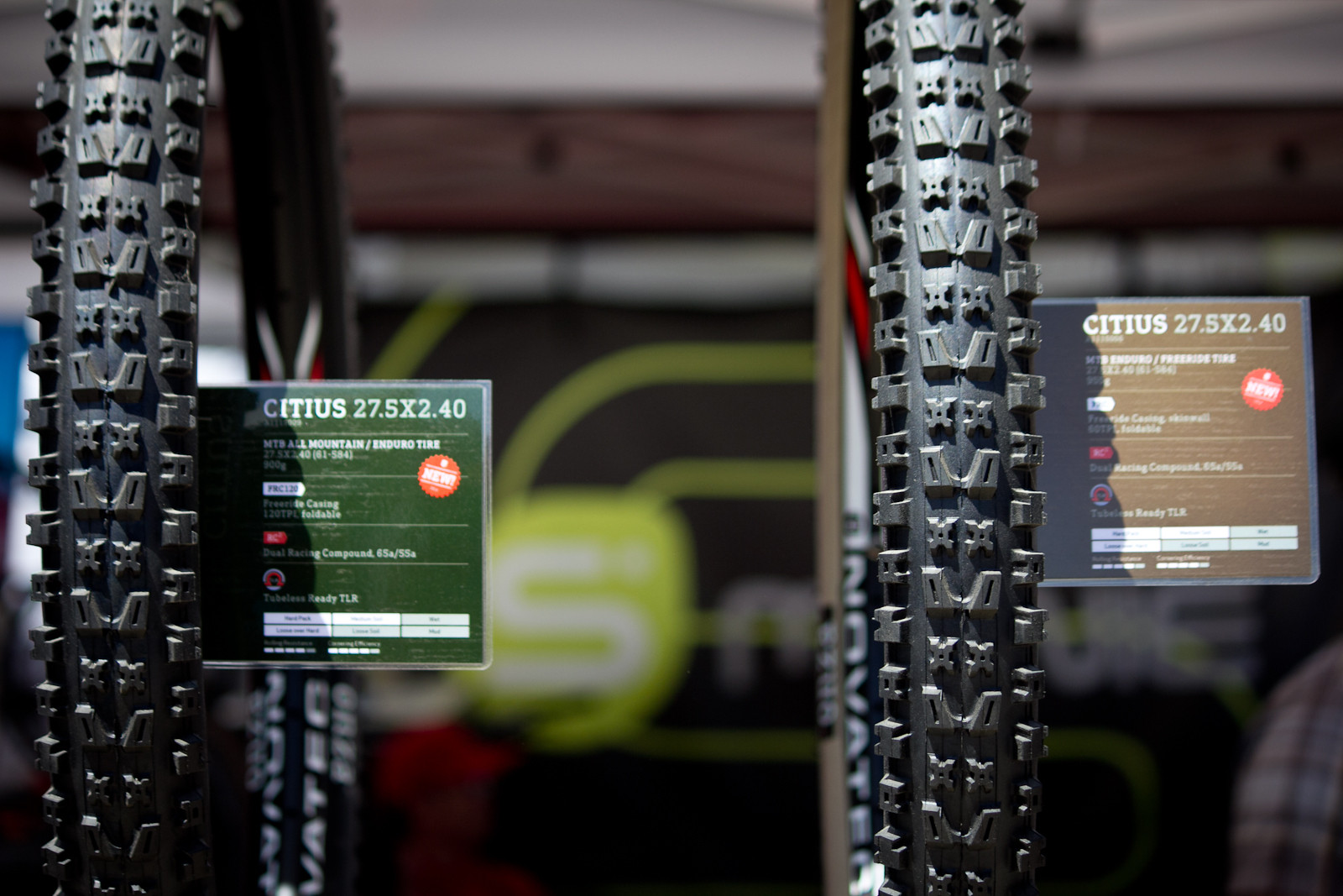 Onza Citius Tires - Sea Otter Classic - 2014 Sea Otter Classic Pit Bits - 3rd Edition - Mountain Biking Pictures - Vital MTB
