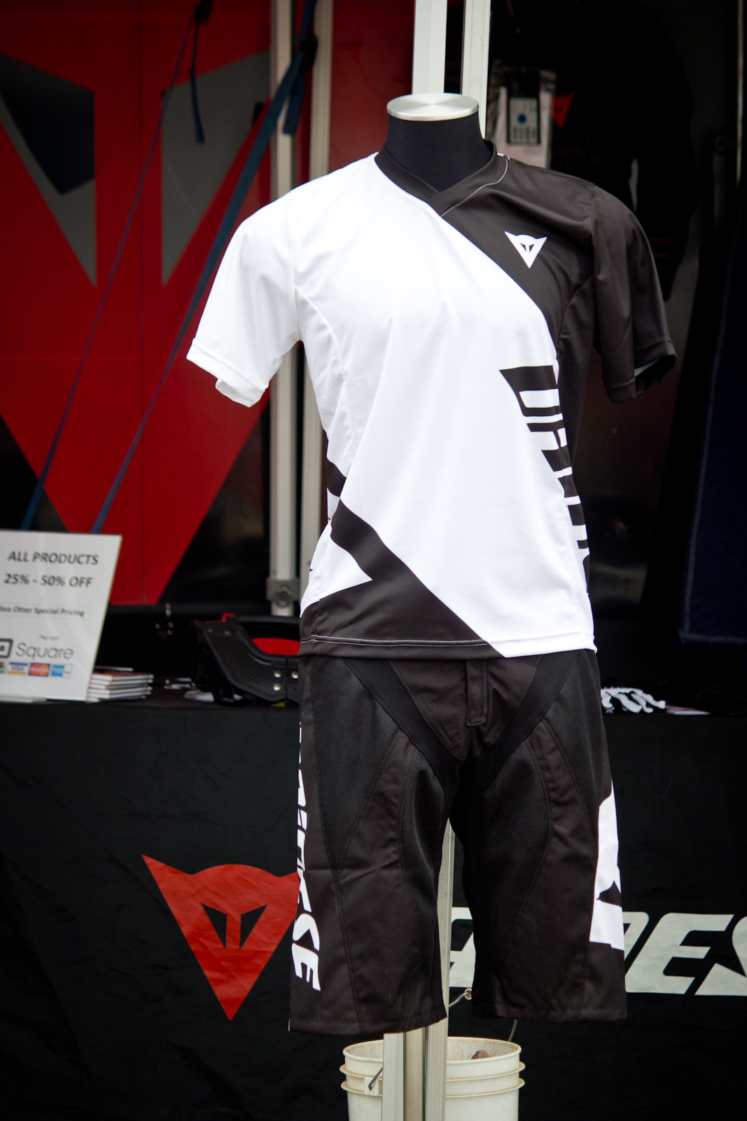 Dainese Hucker Shorts and Basanite Jersey - Sea Otter Classic - 2014 Sea Otter Classic Pit Bits - Final Edition - Mountain Biking Pictures - Vital MTB