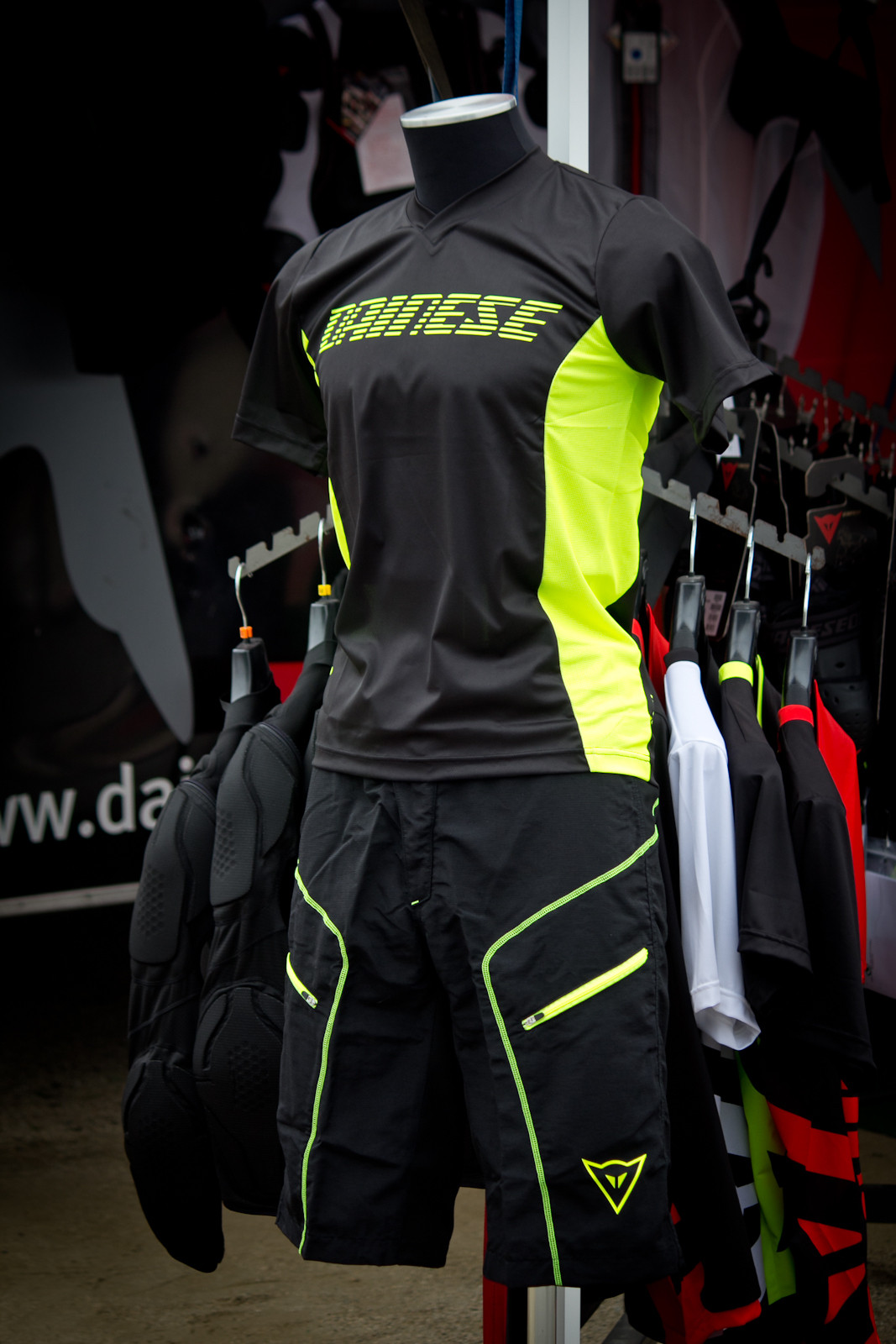 Dainese Drifter Shorts and Jersey - Sea Otter Classic - 2014 Sea Otter Classic Pit Bits - Final Edition - Mountain Biking Pictures - Vital MTB