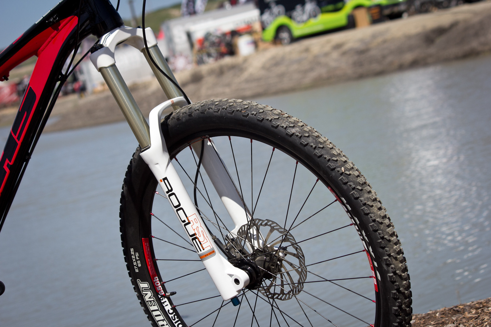 RST Rogue Fork - Sea Otter Classic - 2014 Sea Otter Classic Pit Bits - 3rd Edition - Mountain Biking Pictures - Vital MTB