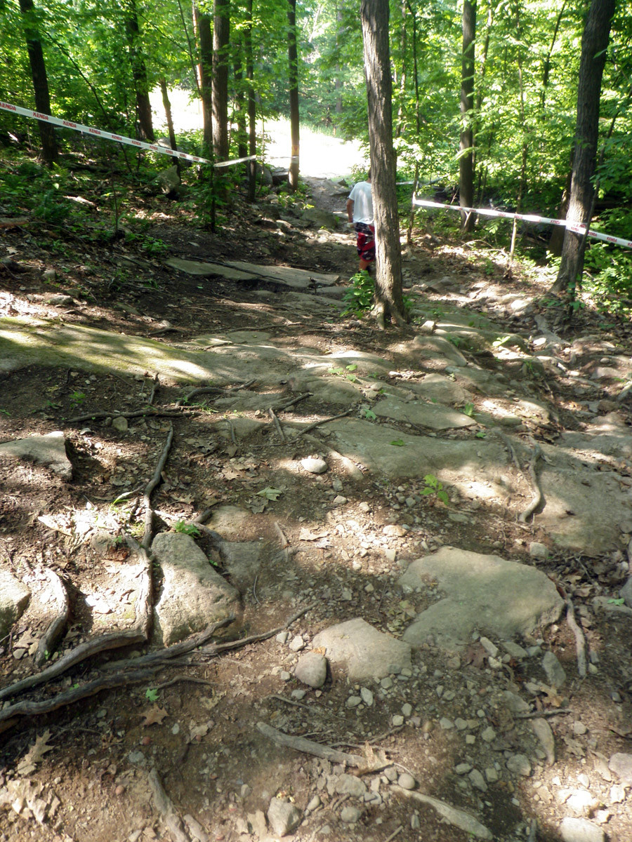 Do the rocks ever end? - US Open DH Course Walk Photos from Team Geronimo - Mountain Biking Pictures - Vital MTB