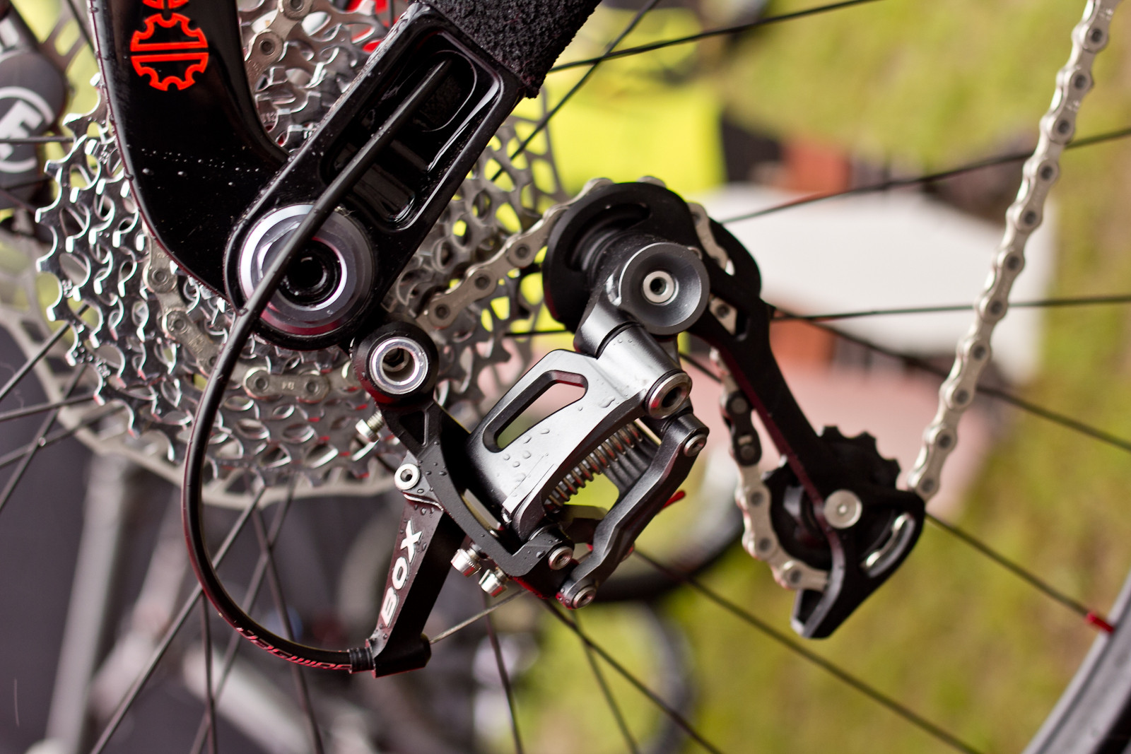 BOX Components Rear Derailleur - 2015 Mountain Bike Components at Eurobike 2014 - Mountain Biking Pictures - Vital MTB
