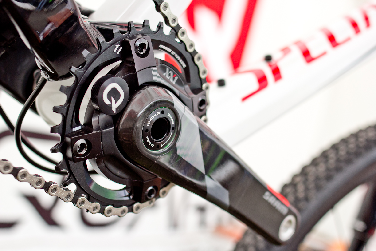 Drag Racing Helmets >> SRAM XX1 Quarq Power Meter Cranks - 2015 Mountain Bike Components at Eurobike 2014 - Mountain ...