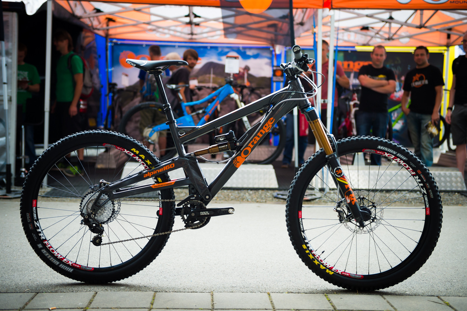 2015 orange alpine 160 2015 trail all mountain enduro bikes at eurobike 2014 mountain. Black Bedroom Furniture Sets. Home Design Ideas