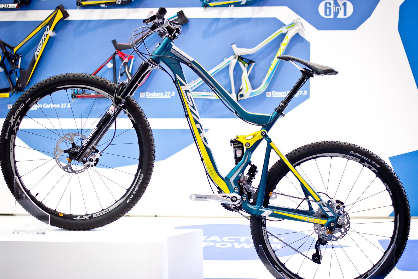 2015 Astro Catalogue Frames - 2015 Trail, All-Mountain & Enduro Bikes at Eurobike 2014 - Mountain Biking Pictures - Vital MTB