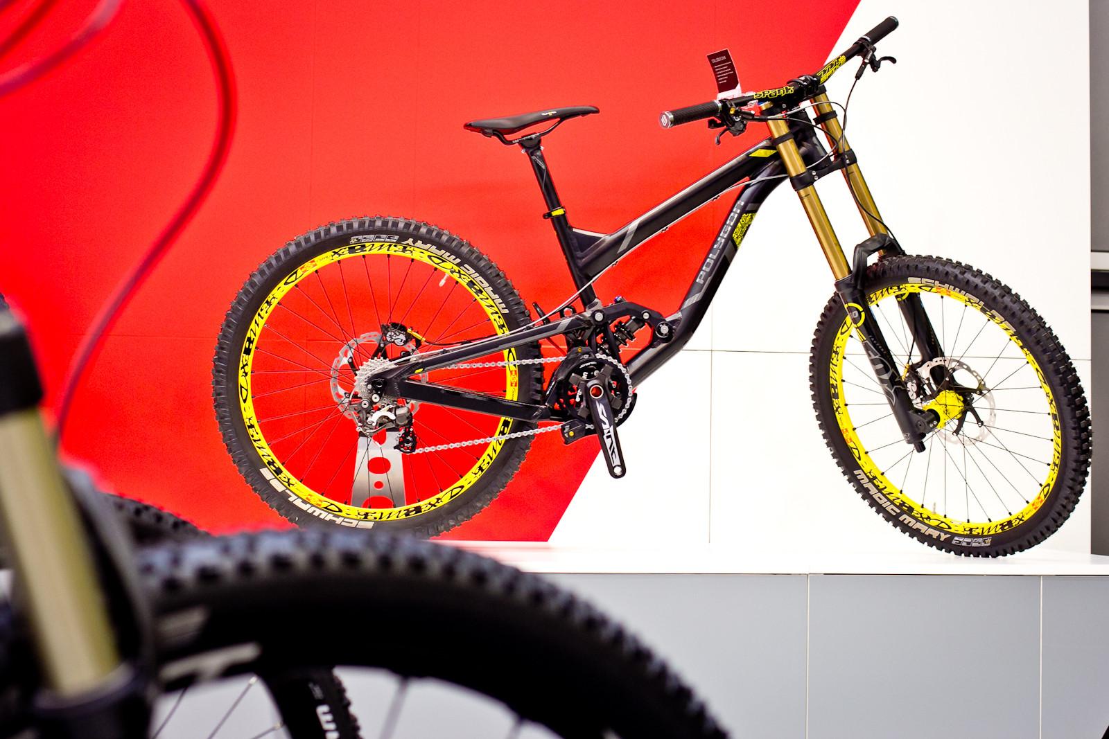 2015 Polygon Collosus DHX - 2015 Downhill Bikes at Eurobike 2014 - Mountain Biking Pictures - Vital MTB