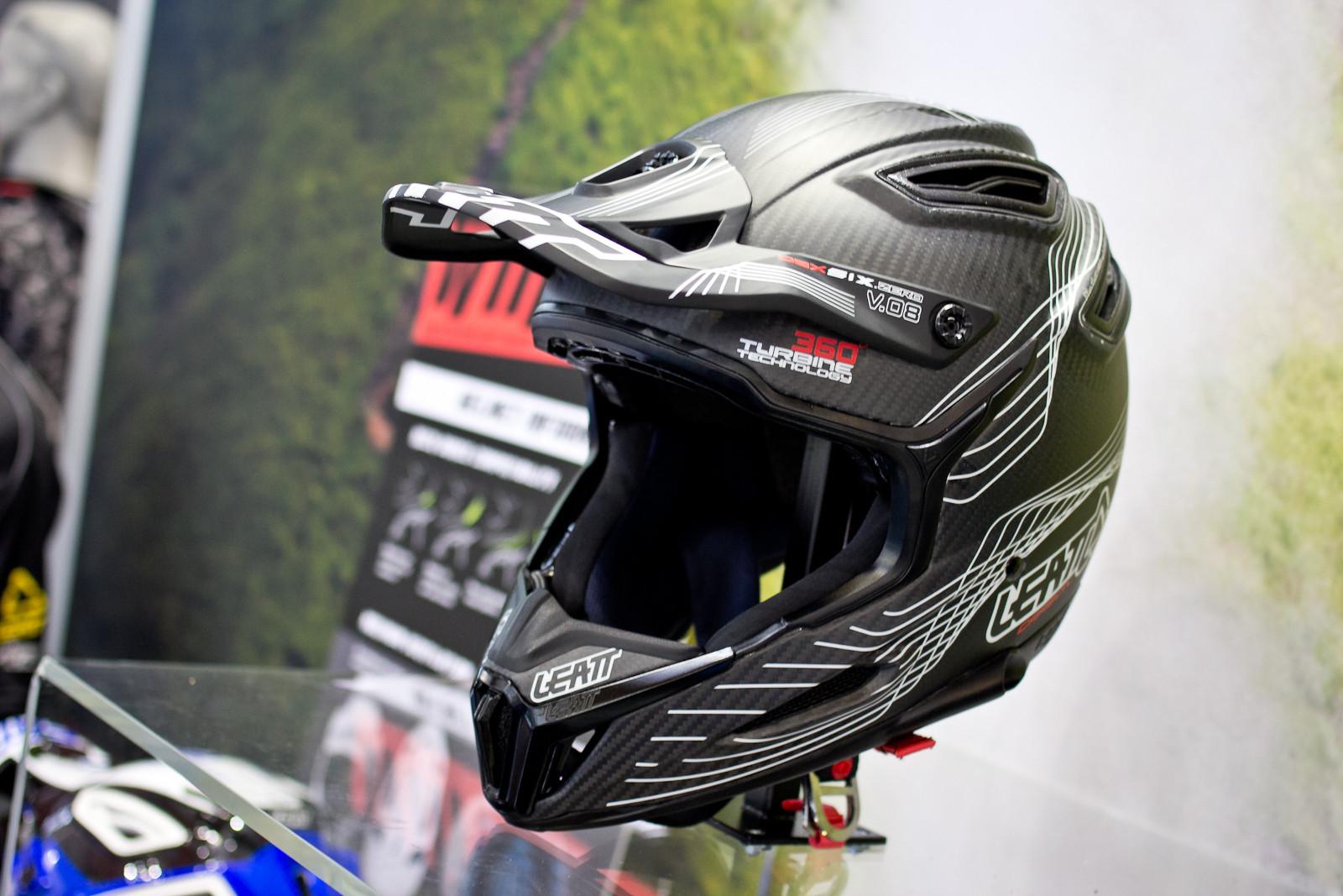 Leatt DBX 6.5 V10 Carbon Helmet - 2015 Mountain Bike Apparel & Protection at Eurobike 2014 - Mountain Biking Pictures - Vital MTB