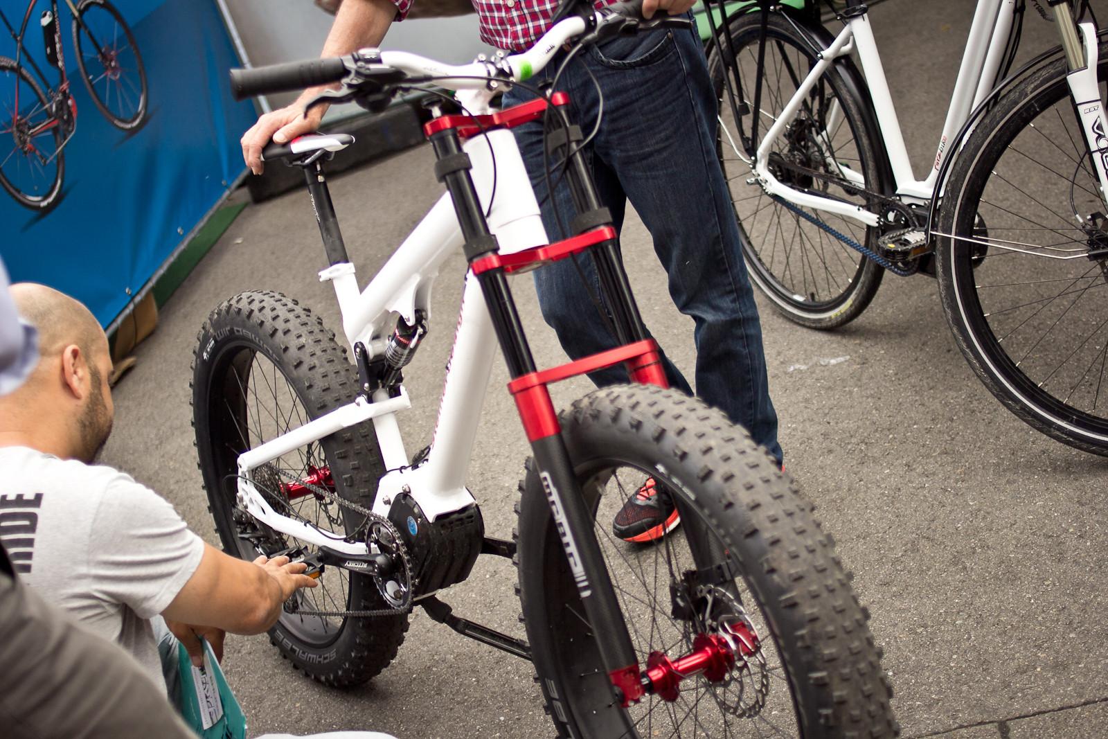 E-Fat-DH Bike - Randoms at Eurobike 2014 - Mountain Biking Pictures - Vital MTB