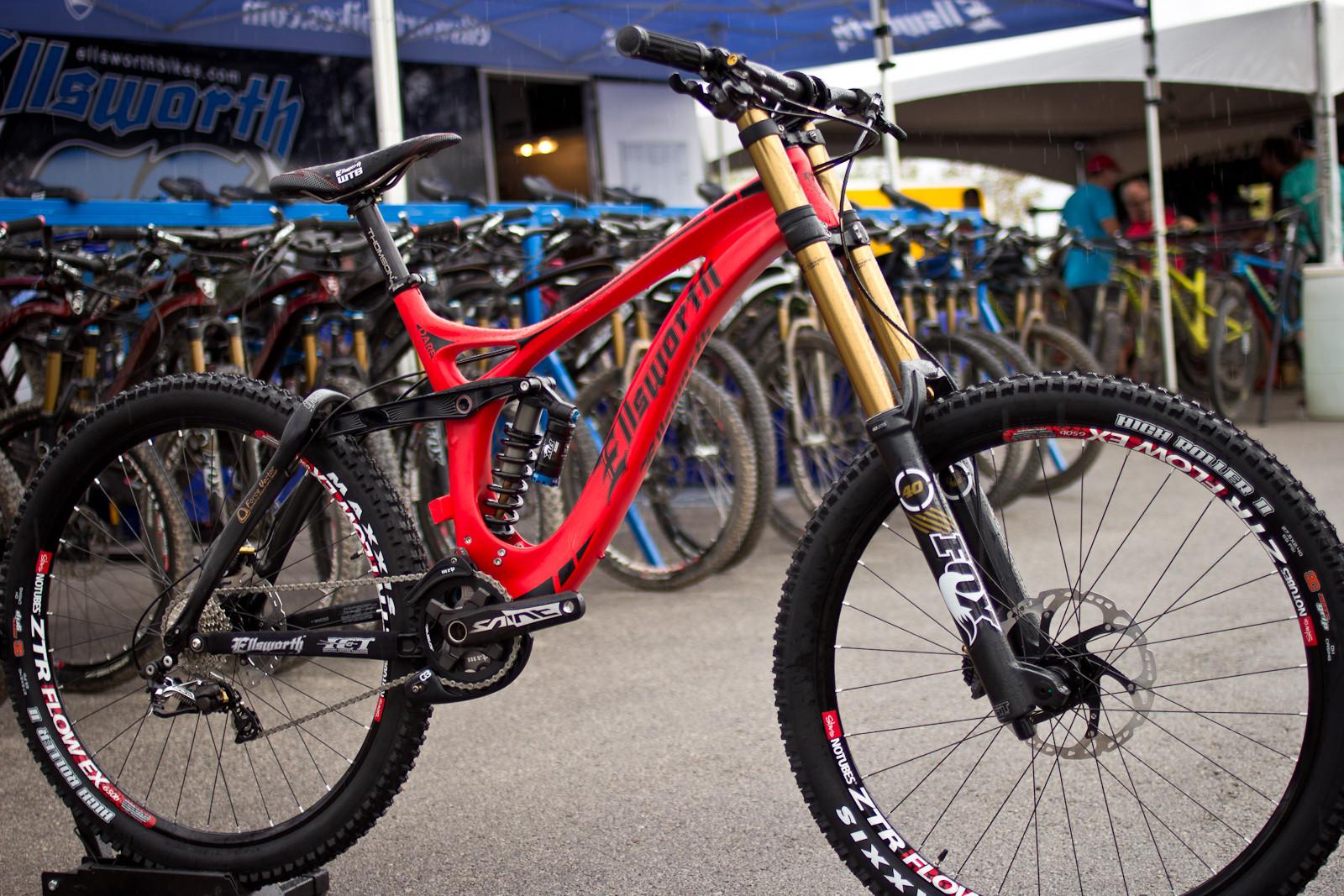 2015 Ellsworth Dare Carbon - INTERBIKE Part 1: Outdoor Demo Rad Bits and Randoms - Mountain Biking Pictures - Vital MTB