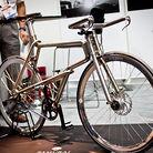 Titanium Samurai Bike