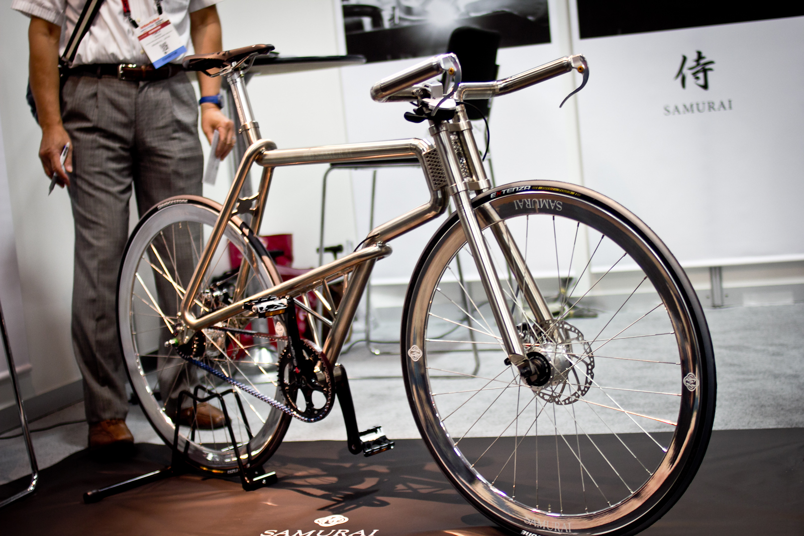 Titanium Samurai Bike Interbike Part 2 Some Of The