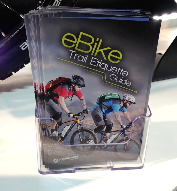 E-Bike Trail Etiquette Guide