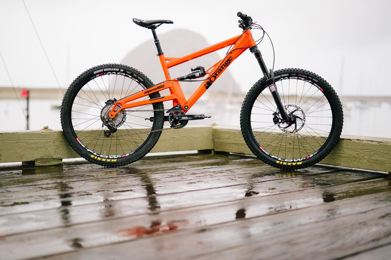 2015 Orange Alpine 160 RS - 19 Bikes Tested - 2015 Vital MTB Test Sessions - Mountain Biking Pictures - Vital MTB