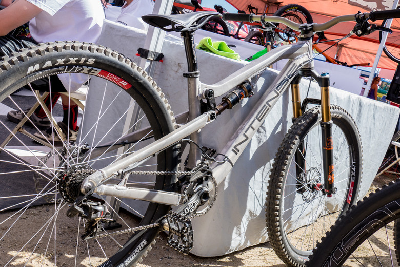 Shaun Palmer's Prototype Intense Dual Slalom Bike