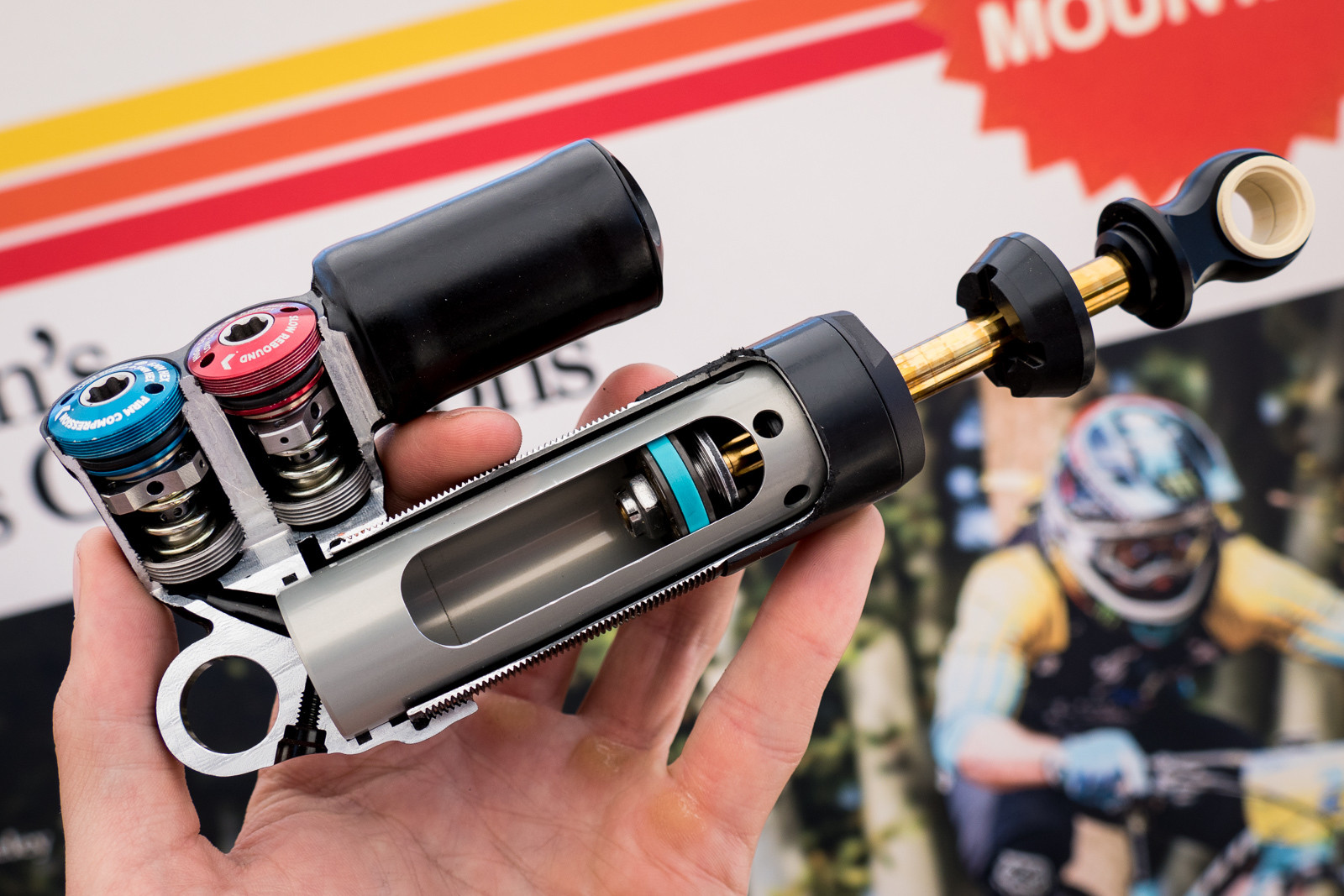What's Inside the 2016 FOX DH Shocks? - 2015 Sea Otter Classic Pit Bits - Mountain Biking Pictures - Vital MTB