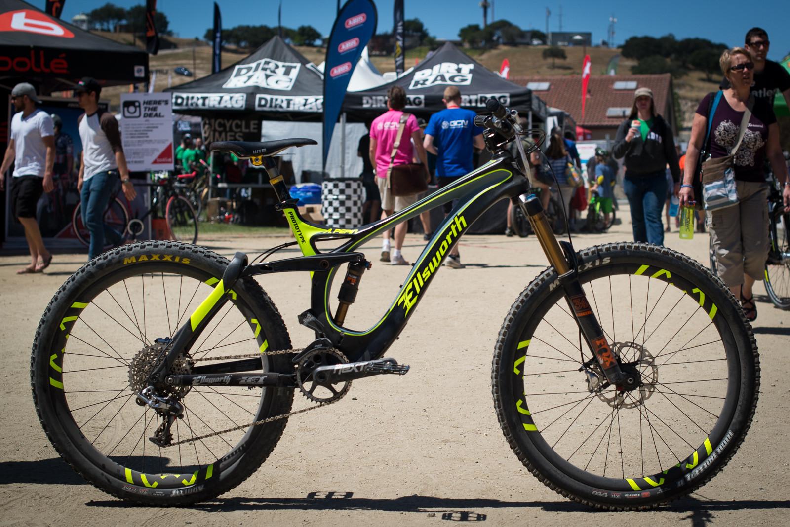 Prototype Ellsworth Moment 27.5 - 2015 Sea Otter Classic Pit Bits - Mountain Biking Pictures - Vital MTB