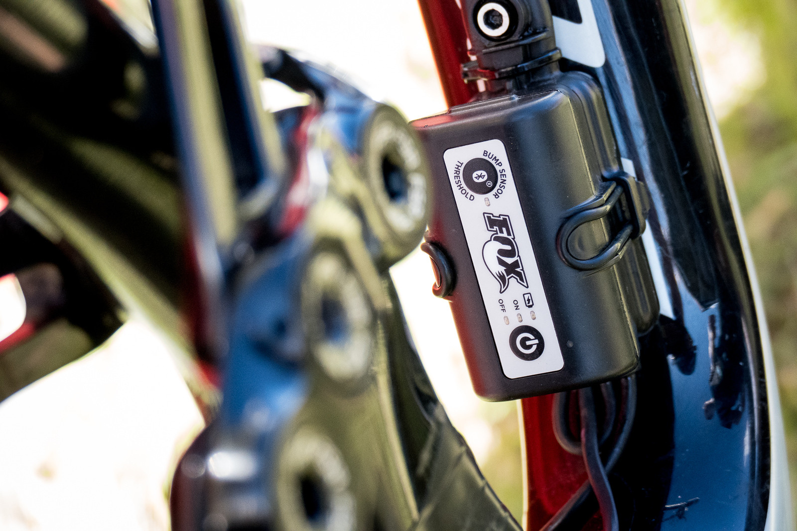 Prototype Electronic FOX 'Live Valve' Suspension System - PIT BITS - Enduro World Series, Crested Butte, Colorado - Mountain Biking Pictures - Vital MTB