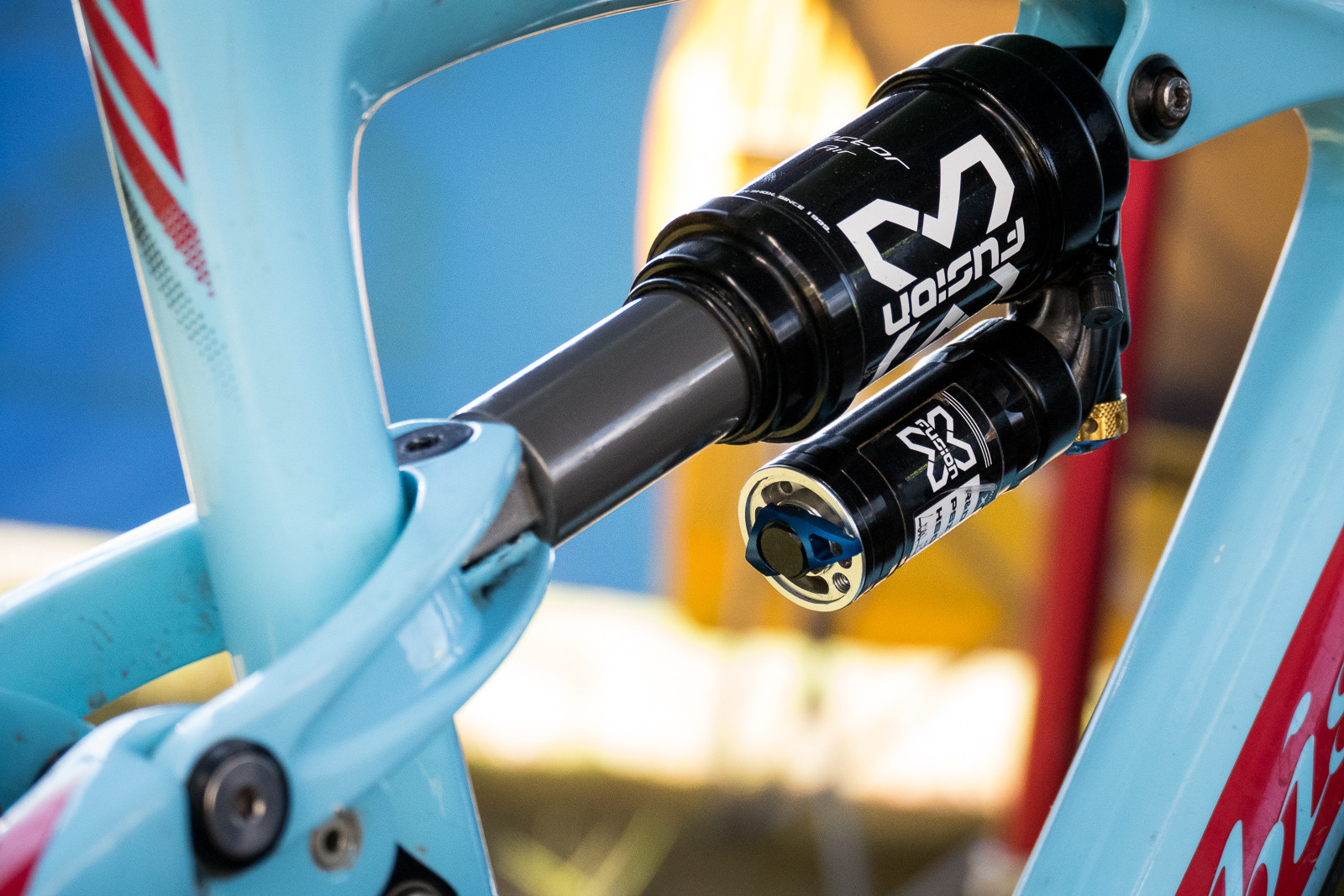 Prototype X-Fusion Air Shock - PIT BITS - Enduro World Series, Crested Butte, Colorado - Mountain Biking Pictures - Vital MTB