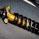 Prototype Cane Creek DB Coil Inline Shock