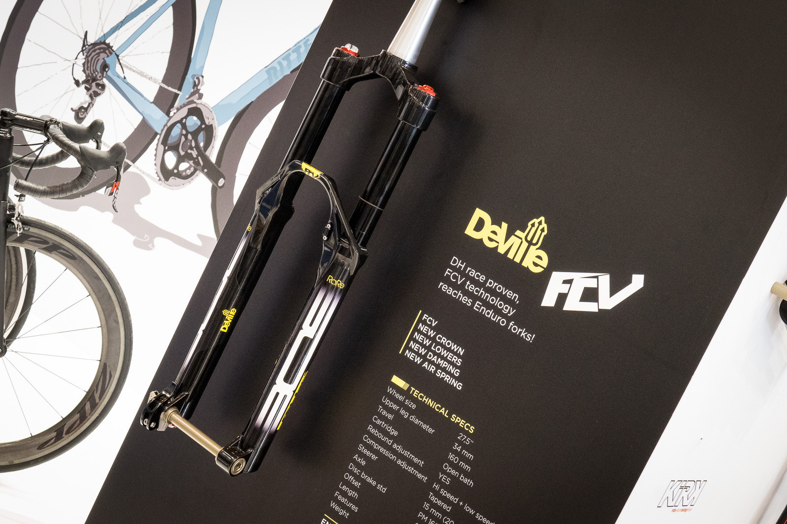 2016 BOS FCV Deville Fork - 2016 Mountain Bike Components at Eurobike - Mountain Biking Pictures - Vital MTB
