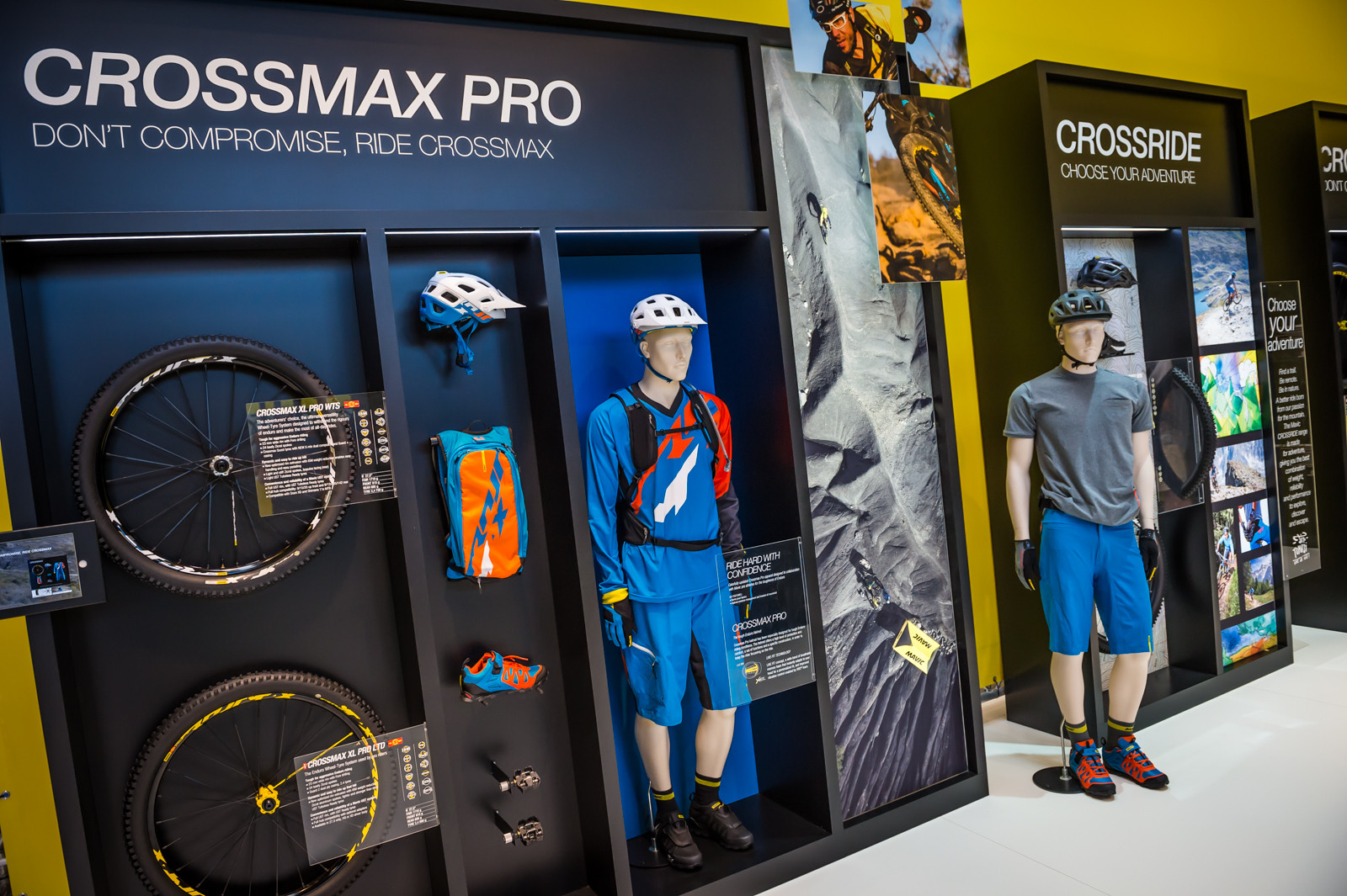 2016 Mavic Crossmax and Crossride Apparel and Component Categories - 2016 Mountain Bike Apparel & Protection at Eurobike - Mountain Biking Pictures - Vital MTB