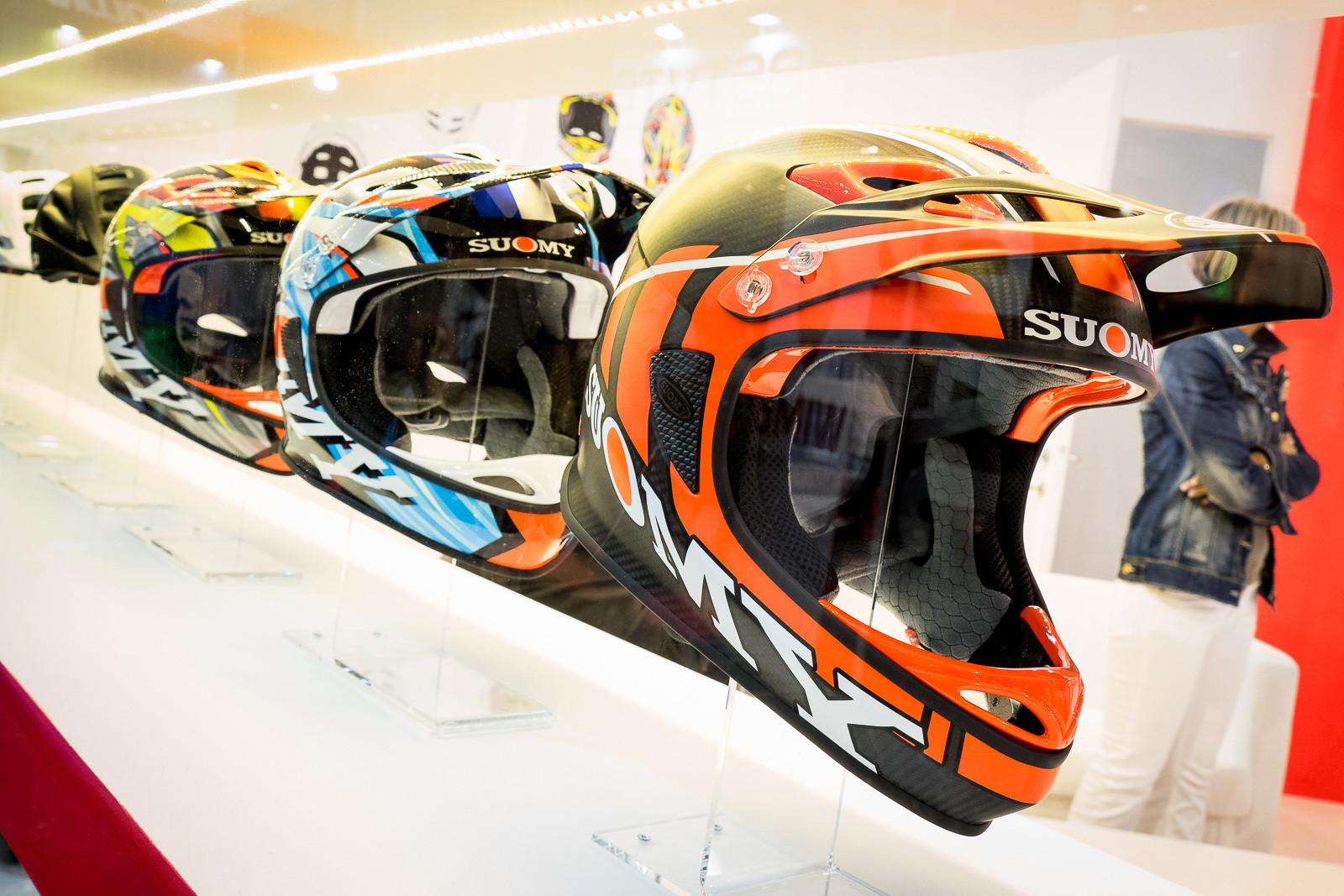 Suomy Helmets - 2016 Mountain Bike Apparel & Protection at Eurobike - Mountain Biking Pictures - Vital MTB