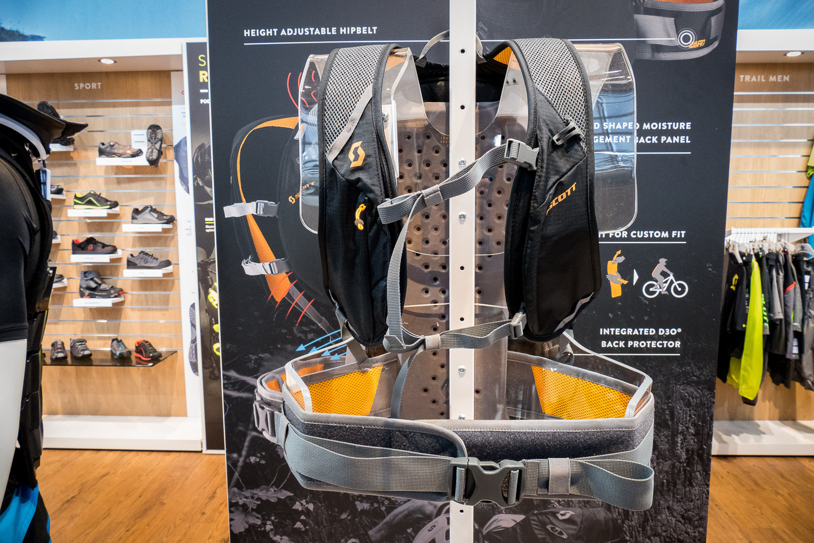 Scott Trail Protect FR '16 Pack - 2016 Mountain Bike Apparel & Protection at Eurobike - Mountain Biking Pictures - Vital MTB