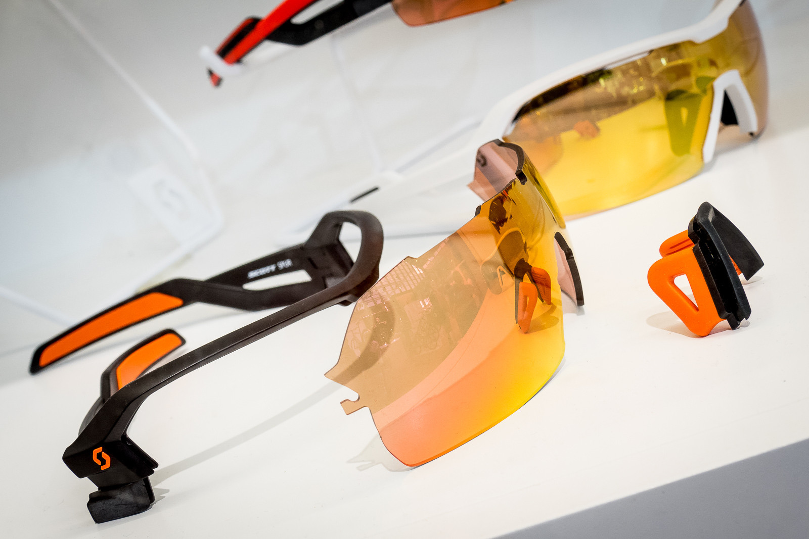 Scott Spur Sunglasses - 2016 Mountain Bike Apparel & Protection at Eurobike - Mountain Biking Pictures - Vital MTB