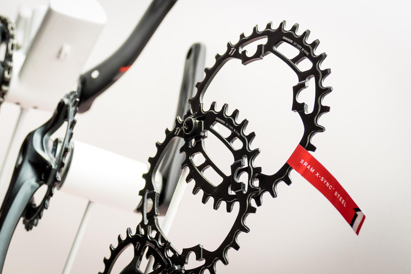SRAM X-Sync Steel Chainrings - 2016 Mountain Bike Components at Eurobike - Mountain Biking Pictures - Vital MTB