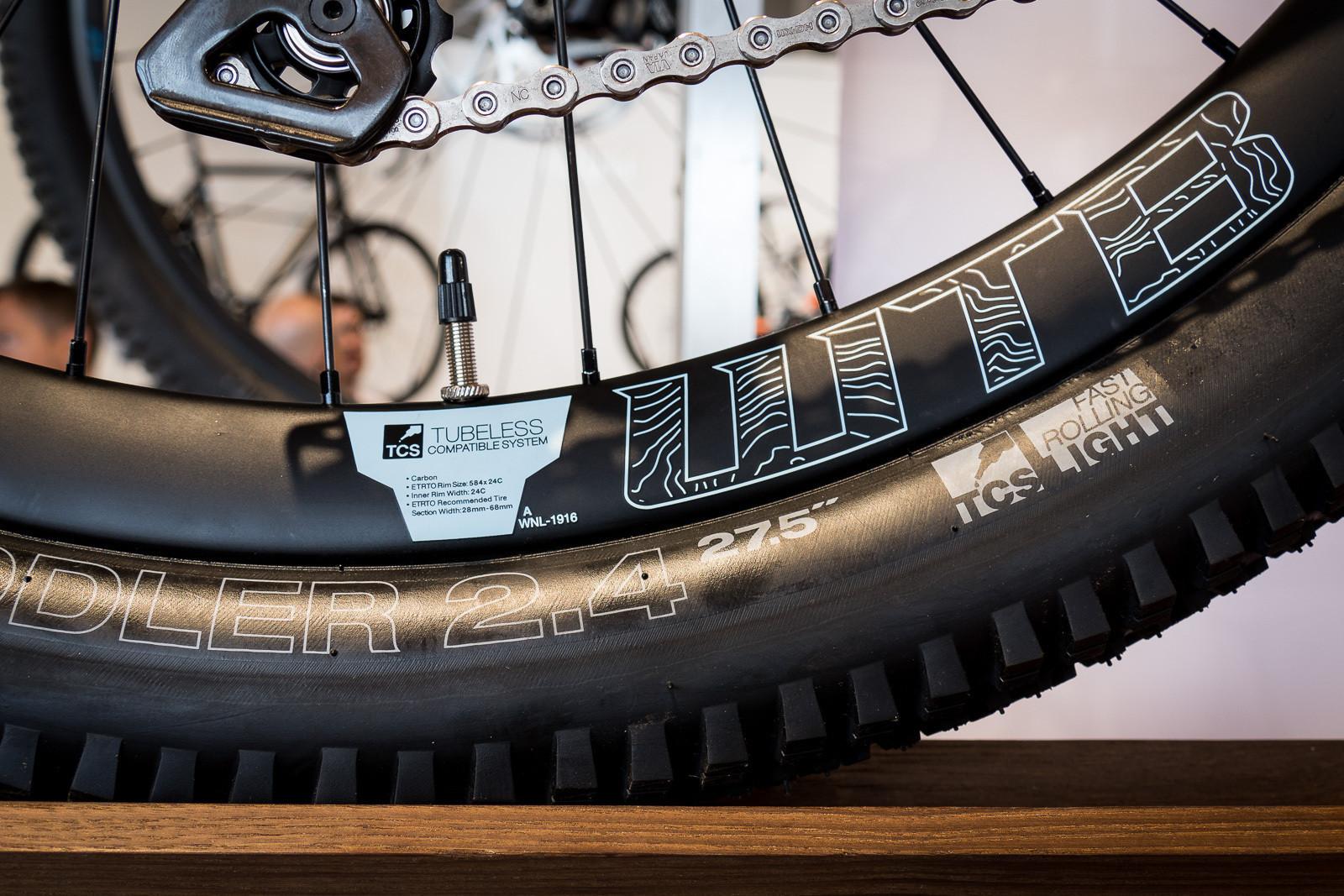WTB Ci24 Carbon Rims - 2016 Mountain Bike Components at Eurobike - Mountain Biking Pictures - Vital MTB