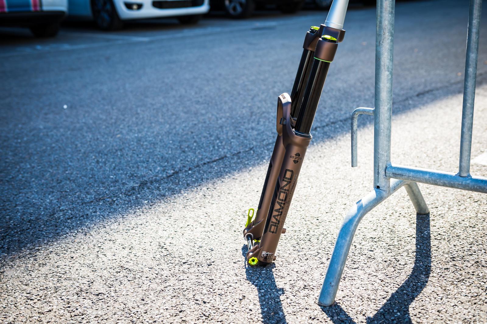 DVO Diamond Custom Color - 2016 Mountain Bike Components at Eurobike - Mountain Biking Pictures - Vital MTB