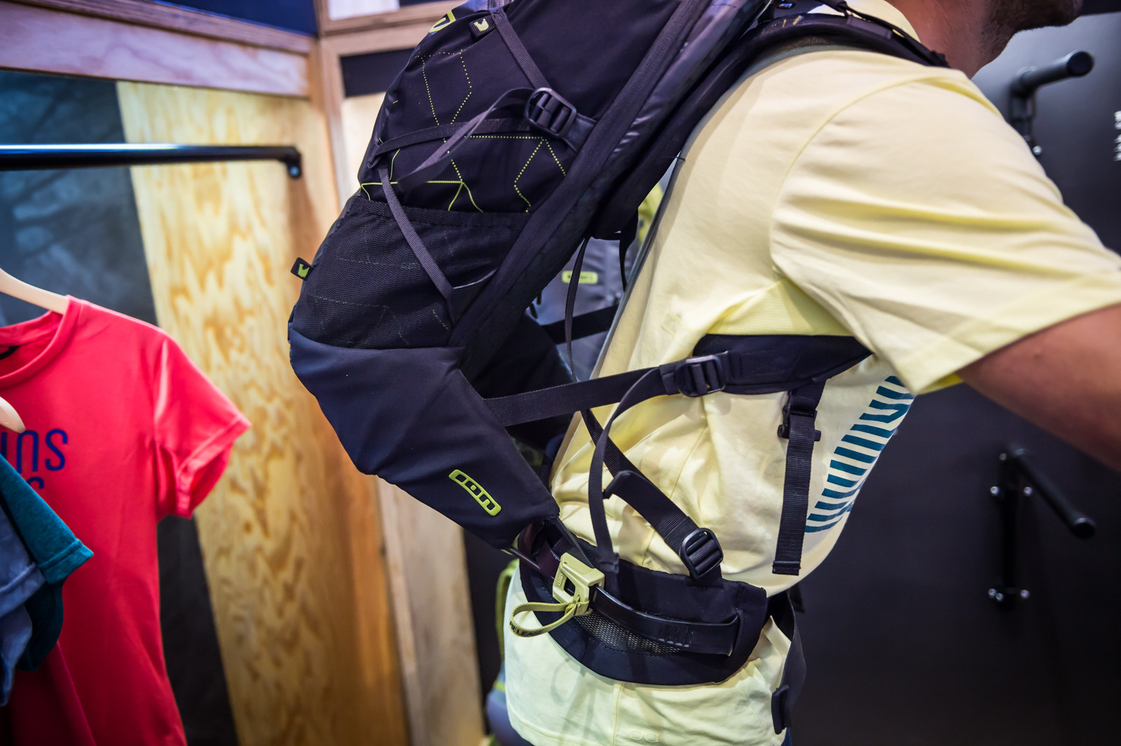 ION Transom Riding Pack with Air Conditioning - 2016 Mountain Bike Apparel & Protection at Eurobike - Mountain Biking Pictures - Vital MTB