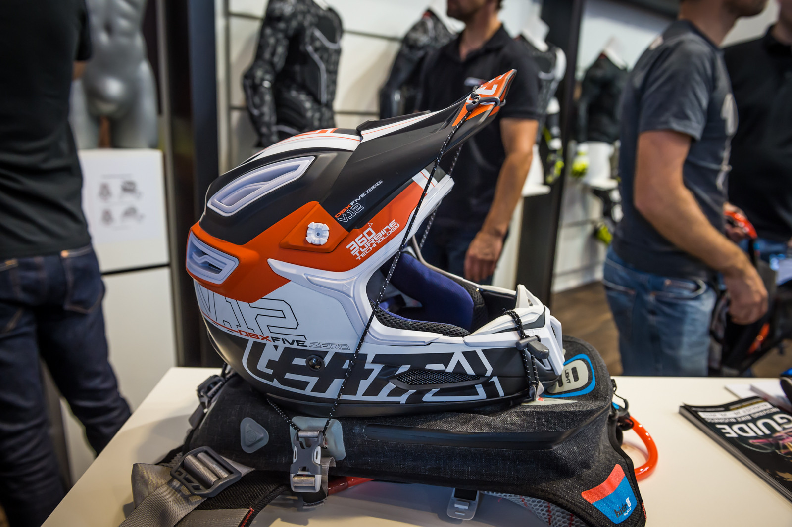 2016 Leatt Helmets, Protection, and Riding Packs - 2016 Mountain Bike Apparel & Protection at Eurobike - Mountain Biking Pictures - Vital MTB