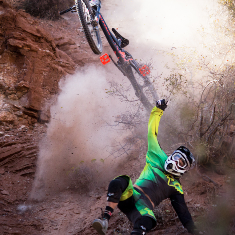 Downhill Wallpaper: Making The Cut At Red Bull Rampage 2012