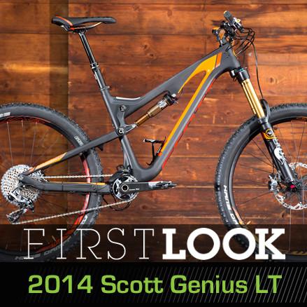 First Look: All-New 2014 Scott Genius LT