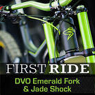 EXCLUSIVE & In Depth: First Ride on the DVO Emerald Fork & Jade Shock