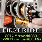 First Ride: 2014 Marzocchi 380 C2R2 Ti Fork and Moto C2R Shock