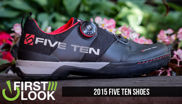 First Look: 2015 Five Ten Kestrel and Freerider Contact Shoes