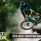 First Look, First Ride: 2016 Rocky Mountain Maiden Carbon Downhill Bike