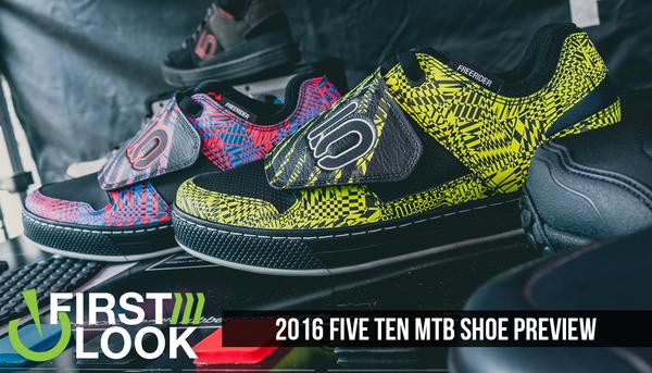 First Look: 2016 Five Ten Mountain Bike Shoes