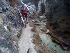 Radwanderung Trail - Don't Look Down!
