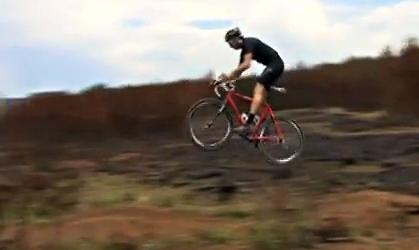 Greg Minnaar Riding Cyclocross