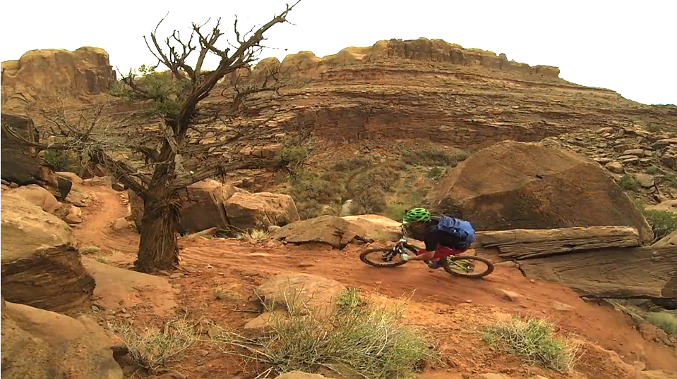Riding Captain Ahab - Moab's Newest Trail