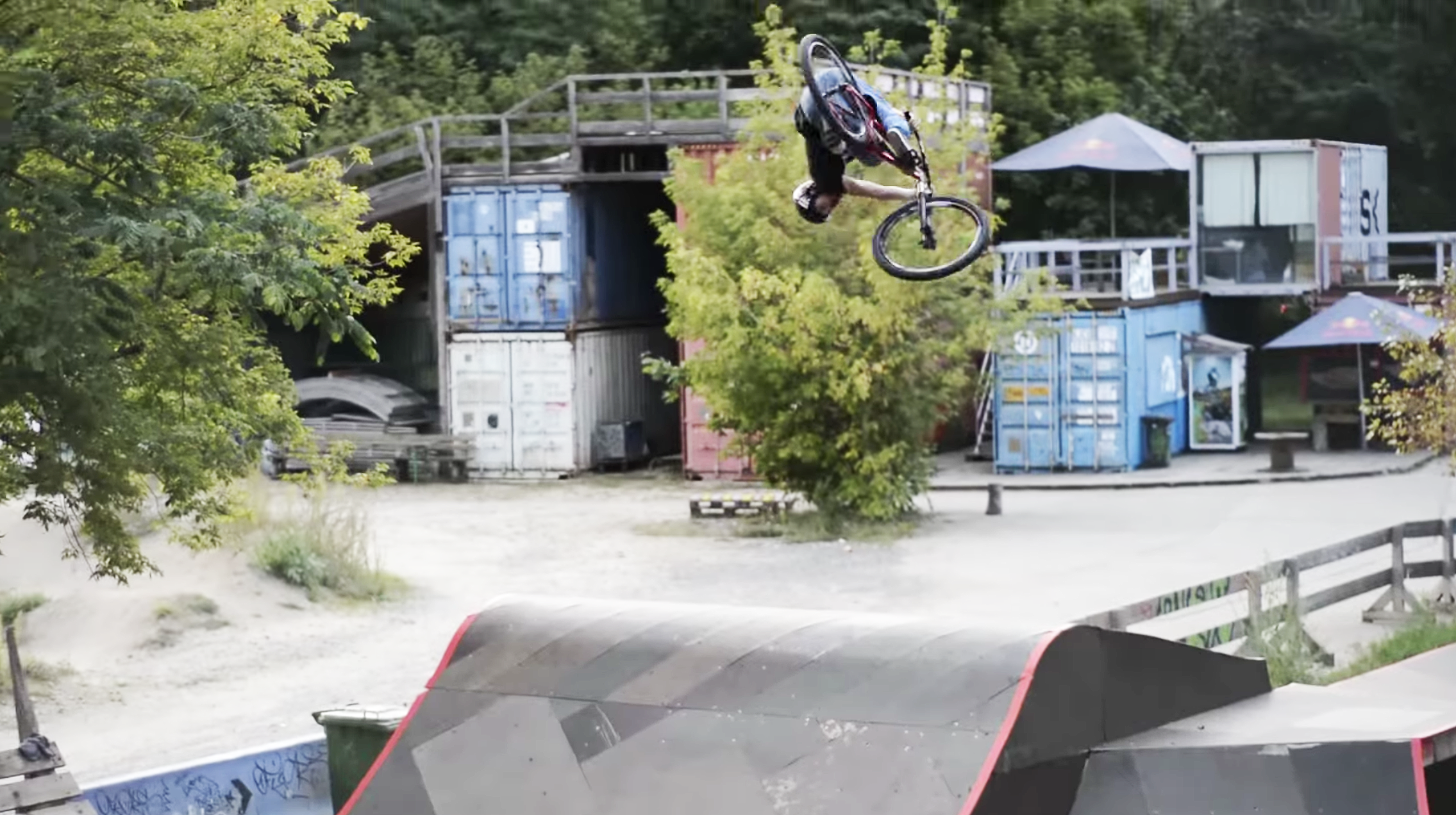 Nothing but the Sound of Tires and Big Blasty Skatepark Moves - Ludwig Jaeger