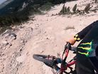 Cam Zink and Crew Descend a Landslide on Trail Bikes