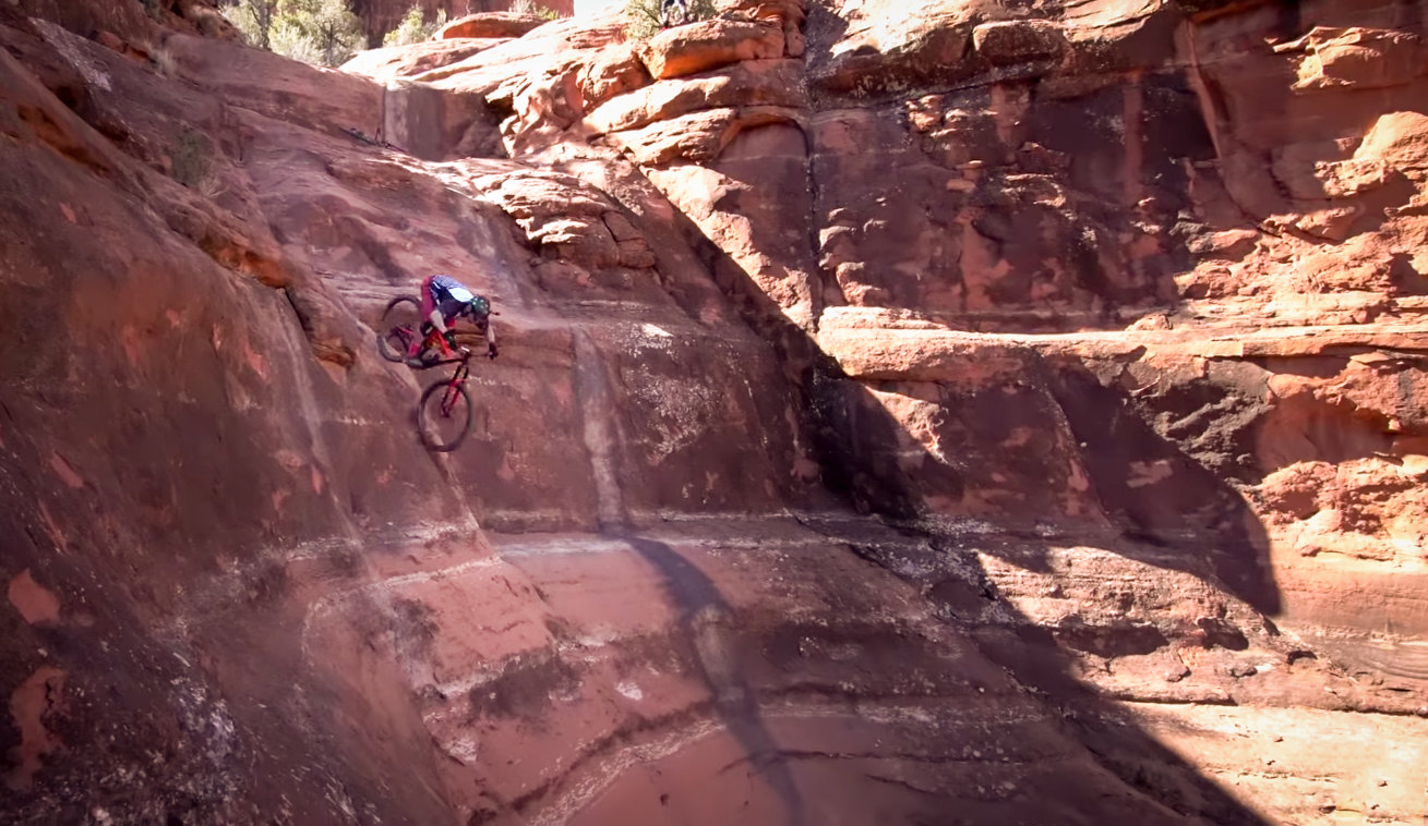 "Sedona's BURLIEST Lines with Nate Hills: ""White Line is the Easy Part"""