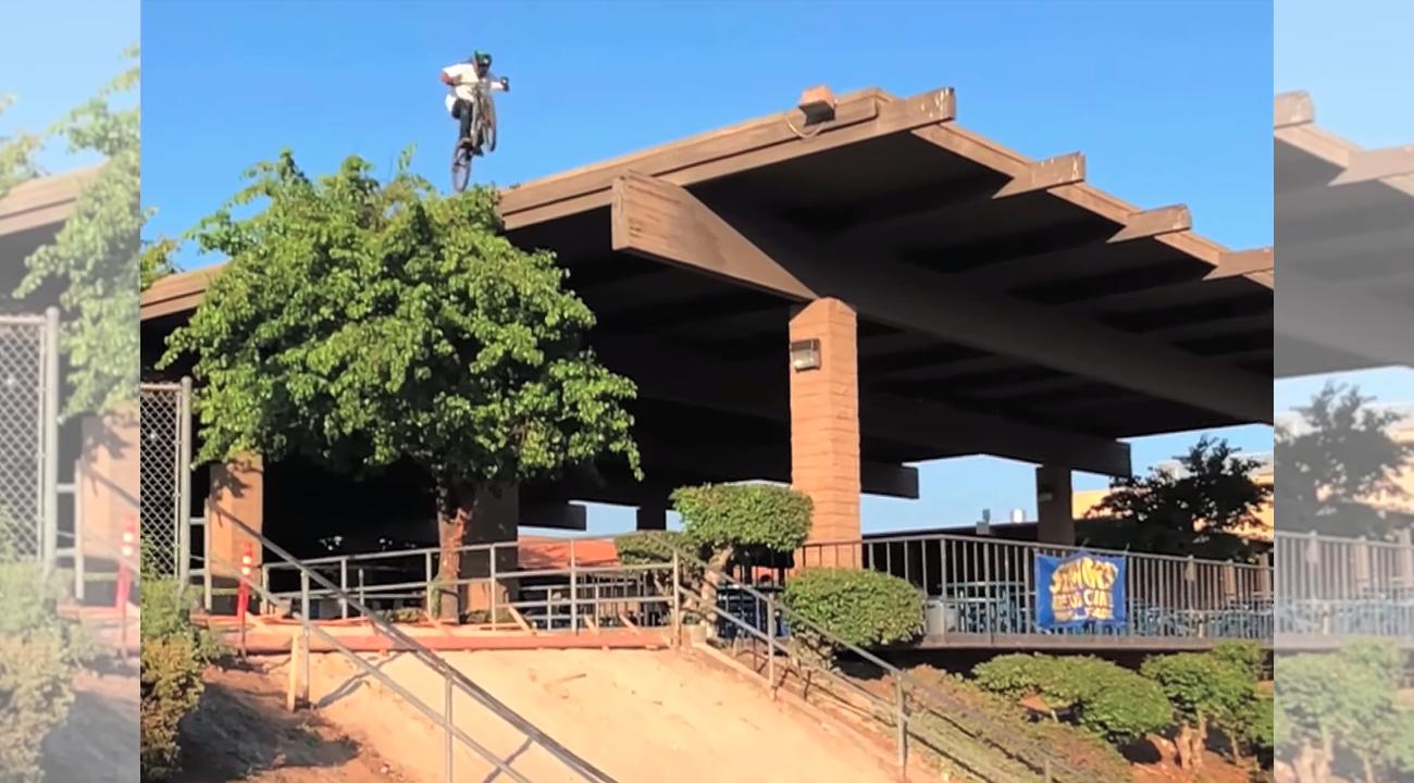 Behind the Scenes: Watch Dylan Stark STOMP the El Toro Roof Drop