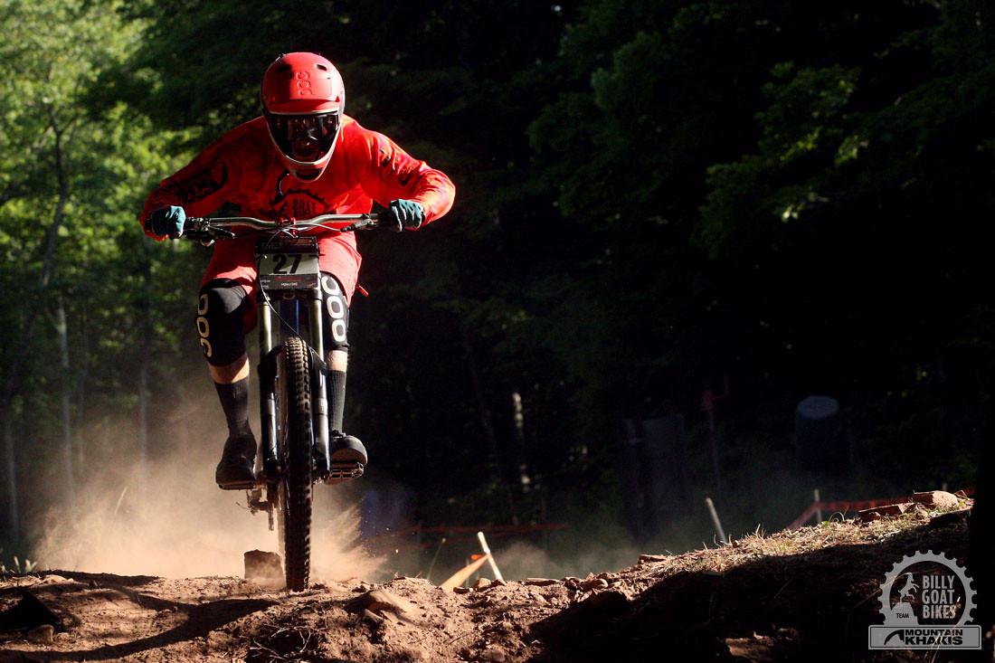 Pro Max Morgan on His Race Run - waterdog - Mountain Biking Pictures - Vital MTB
