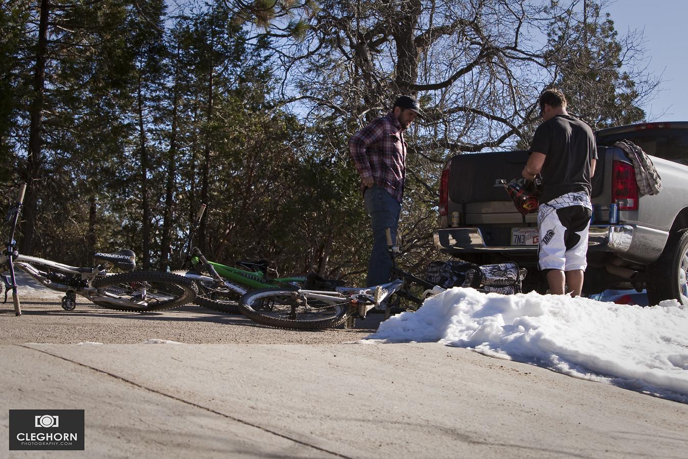 Chris Skudlarski and David Klaassen Van Oorschot - Cleghorn Photography - Mountain Biking Pictures - Vital MTB